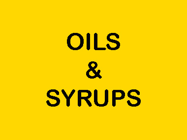 OILS AND SYRUPS