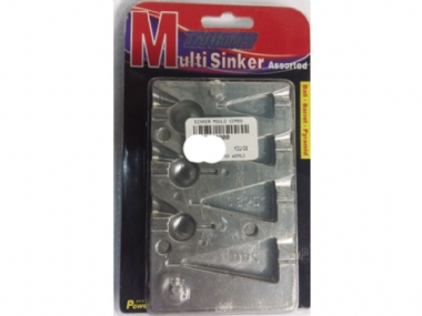 Sinker Moulds available at Ganis Angling World