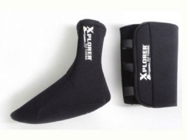 XPLORER WADING SOCKS WITH WRAP-AROUND GRAVEL GUARD