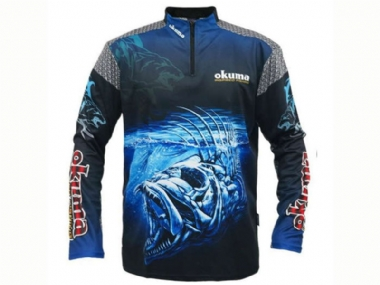 OKUMA LONG SLEEVE SHIRTS  ASSORTED