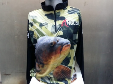 ANGLER FISHING SHIRTS ASSORTED CAMO