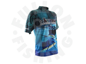 OKUMA SHORT  SLEEVE SHIRTS GAME FISH