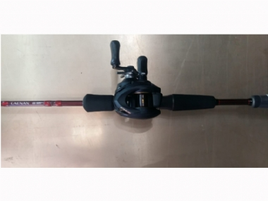 SHIMANO CAENAN 6'6FT MH ROD  AND CAIUS 150 COMBO