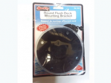 SCOTTY  ROUND FLUSH DECK MOUNTING BRACKET